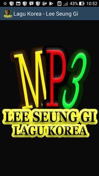 Lagu Korea - Lee Seung Gi poster