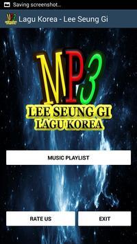 Lagu Korea - Lee Seung Gi screenshot 1
