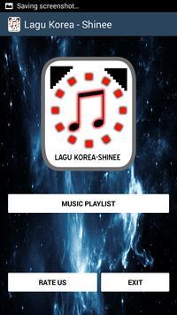 Lagu Korea - Shinee screenshot 1
