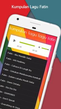 lagu lagu fatin apk screenshot