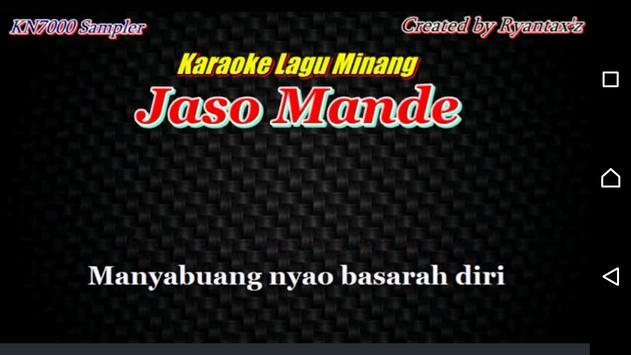 Lagu Minang Populer apk screenshot