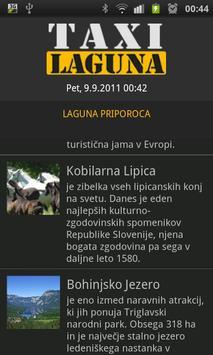 Taxi Laguna screenshot 1