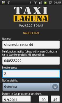 Taxi Laguna screenshot 2