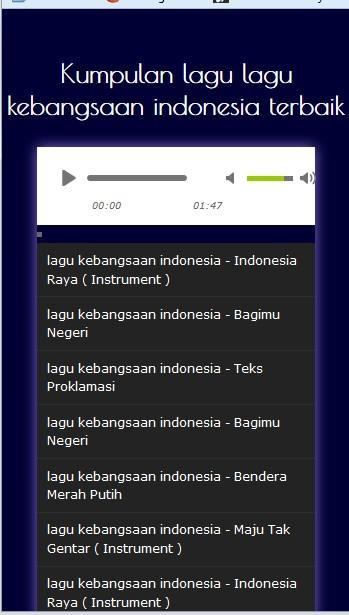 Lagu Nasional Mp3 For Android Apk Download