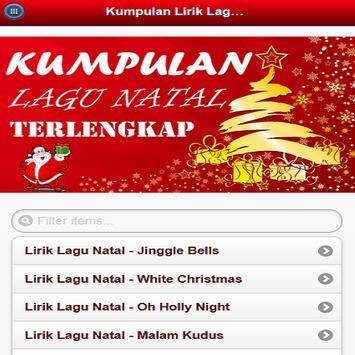 Kumpulan Lagu Natal Terbaru poster