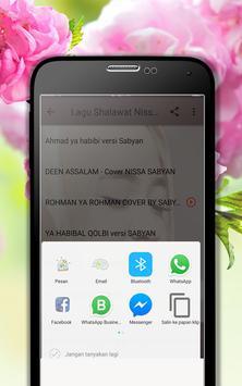Lagu Shalawat Nissa Sabyan Terpopuler MP3 screenshot 2