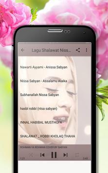 Lagu Shalawat Nissa Sabyan Terpopuler MP3 screenshot 3