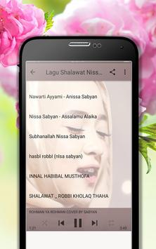 Lagu Shalawat Nissa Sabyan Terpopuler MP3 screenshot 5