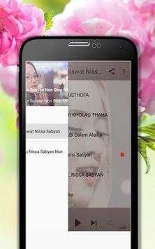Lagu Shalawat Nissa Sabyan Terpopuler MP3 screenshot 6