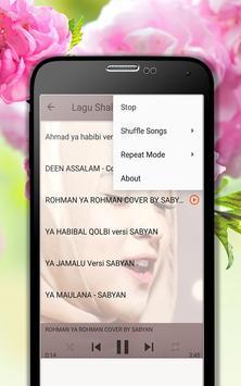 Lagu Shalawat Nissa Sabyan Terpopuler MP3 screenshot 8