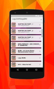 Lagu Ost Warteg DKI apk screenshot