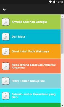 Lagu Ada Si Manis Di Jembatan + Lirik apk screenshot