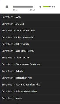 Latest seventeen song screenshot 2