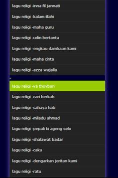 lagu religi screenshot 1