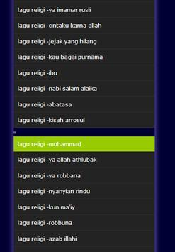lagu religi screenshot 2