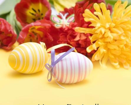 Spring Flower Easter Postcard Wallpapers apk screenshot