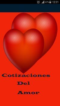 Cotizaciones Del Amor poster