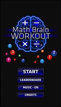 Math Brain Workout poster