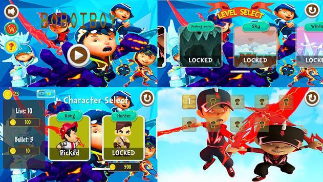 Power BoboiBoy Thunder Sword screenshot 1