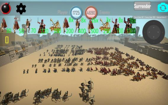 CLASH OF MUMMIES: PHARAOH RTS apk screenshot