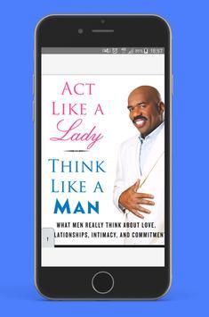 Act like a Lady Think like a Man ( free PDF ) poster