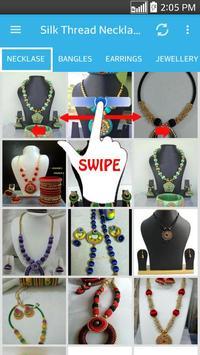 Silk Thread Necklace poster