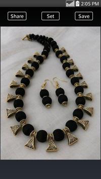 Silk Thread Necklace apk screenshot