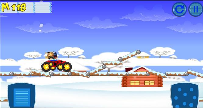 Ladybug & Cat Noir racing car apk screenshot