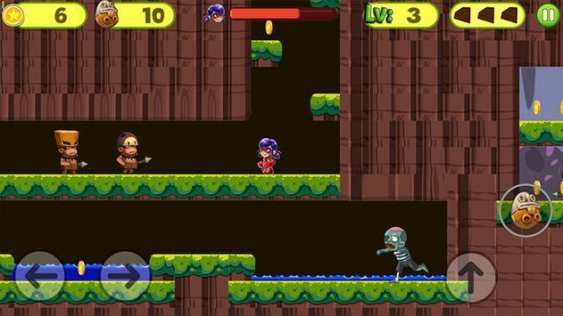 Ladybug jungle Adventure World screenshot 4