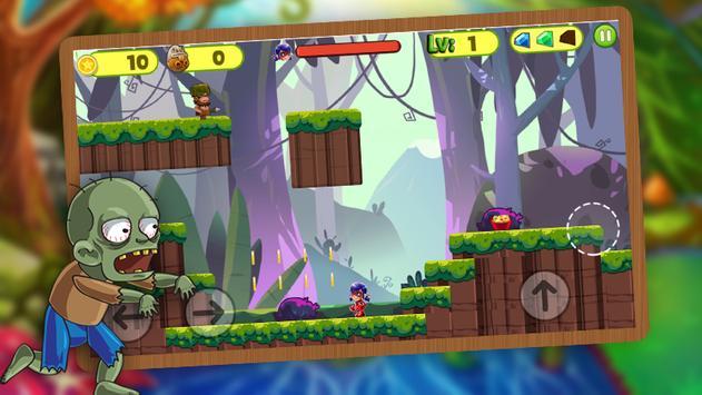 Ladybug jungle Adventure World screenshot 1