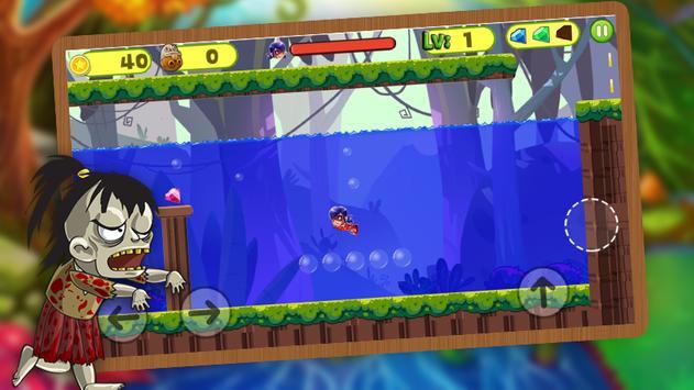 Ladybug jungle Adventure World screenshot 3