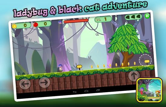 Ladybug & Black Cat Adventure apk screenshot