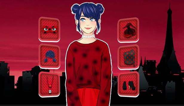 Dress Up Games For ladybug screenshot 1