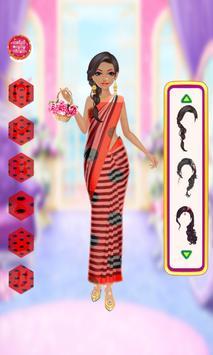 Ladybug girl Indian Dressup &Makeup 🐞 apk screenshot