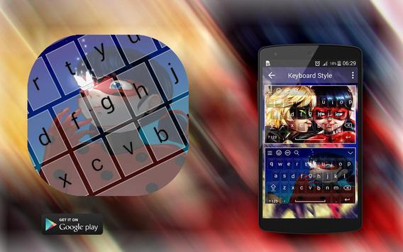 Ladybug Keyboard Of Anime screenshot 7