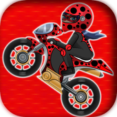ladybug motorbike miraculous icon