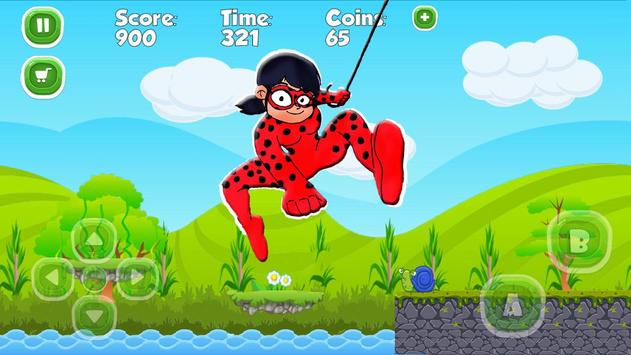 Ladybug The Hero Run Chibi poster