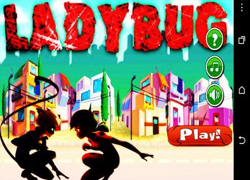 Ladybug City adventure poster