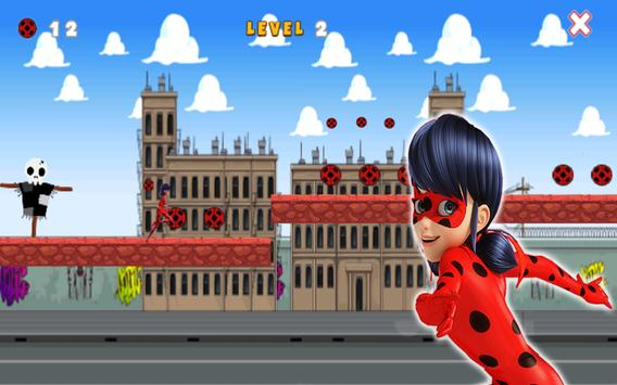 Super Ladybug Ninja Run 🐞🐞 apk screenshot