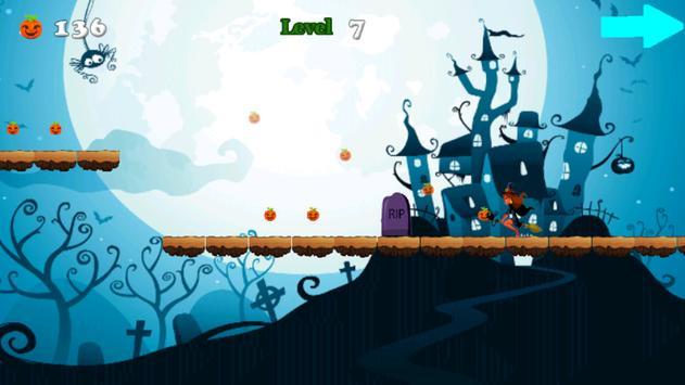 Ladybug Witch Chibi Halloween apk screenshot