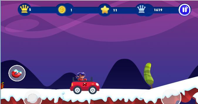 Ladybug Jungle Adventure screenshot 1