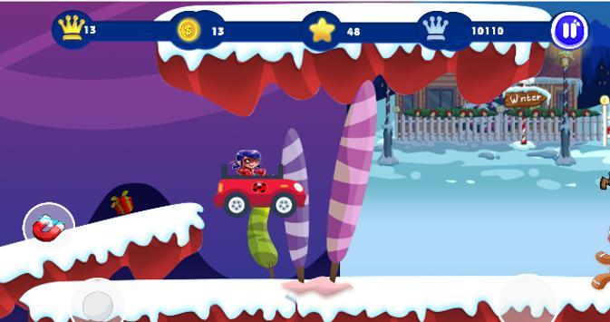 Ladybug Jungle Adventure screenshot 2