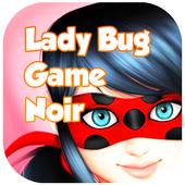 Ladybug Adventure Noir icon