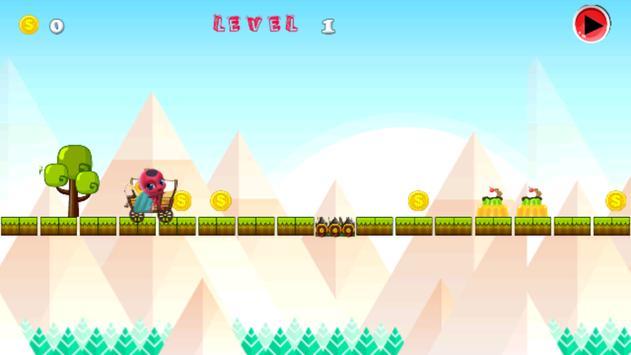 Ladybug Adventure Noir apk screenshot