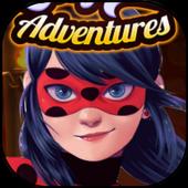 Ladybug Adventure World Run 🐞 icon