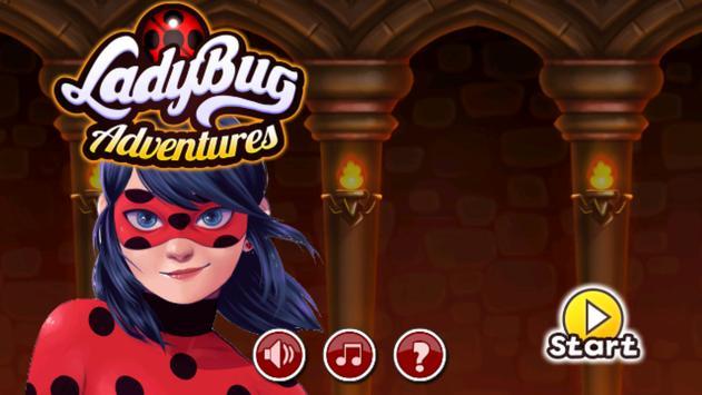 Ladybug Adventure World Run 🐞 poster