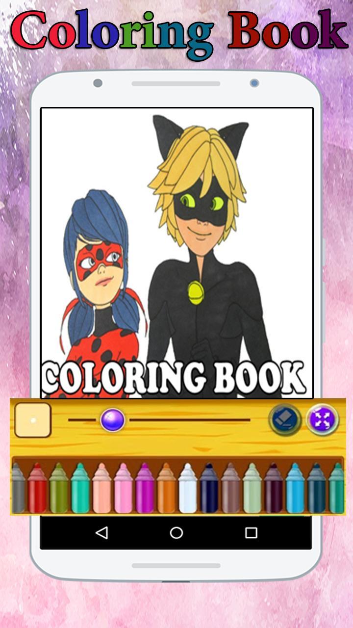 Livre De Coloriage Ladybug Et Catnoir Miraculous For Android Apk