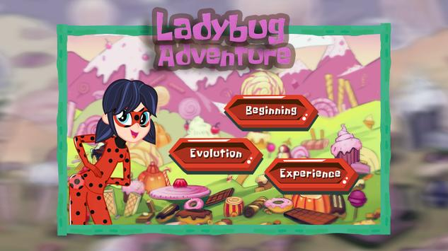 Ladybug Adventure Running poster