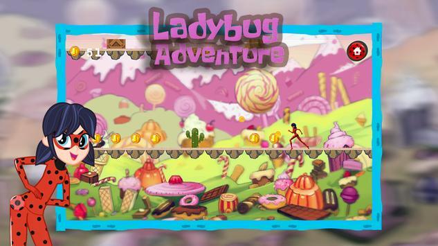 Ladybug Adventure Running apk screenshot