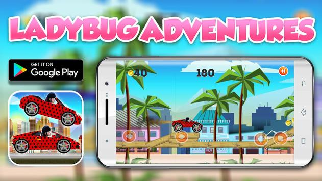 Ladybug Supercars Adventures screenshot 1